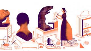Camille Claudel: H Google τιμά τη σπουδαία γλύπτρια με το σημερινό της Doodle