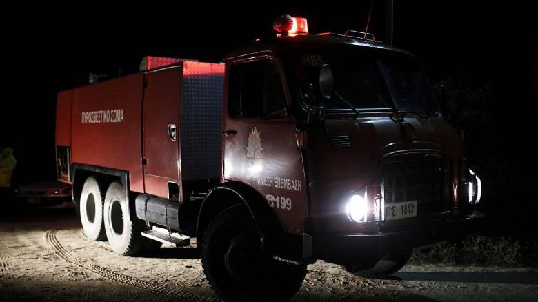 Μυτιλήνη: Νεκρός ηλικιωμένος μετά από φωτιά στο σπίτι του
