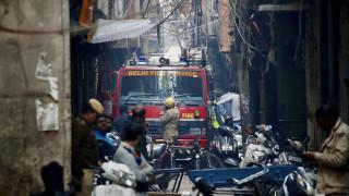 Ινδία: Δεκάδες νεκροί από πυρκαγιά σε εργοστάσιο
