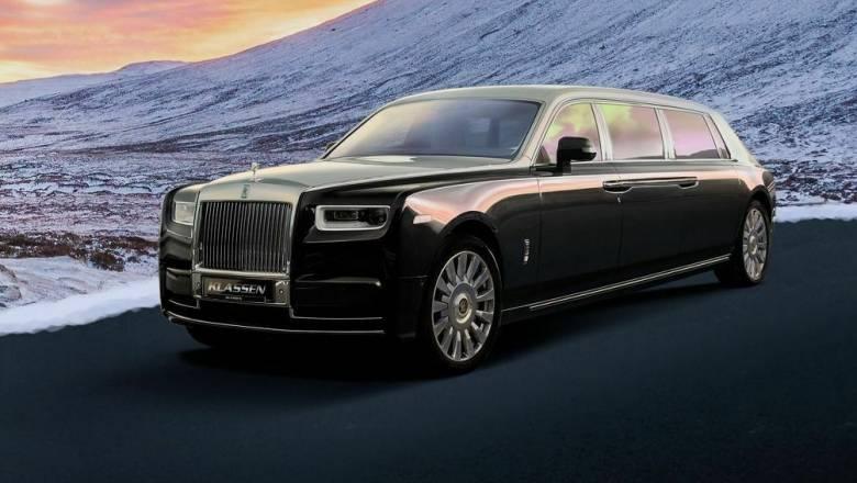 Αυτοκίνητο: Η Rolls Royce Phantom των 7,0+ μέτρων της Klassen είναι το όνειρο κάθε ισχυρού