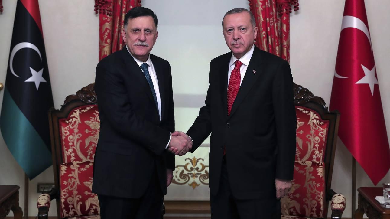 Η κυβέρνηση της Τρίπολης έθεσε σε ισχύ τη συμφωνία με την Τουρκία
