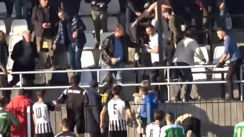 Απίστευτες εικόνες σε αγώνα της Γ' Εθνικής: Επεισόδια και τραυματίες
