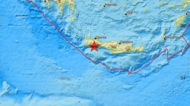 Νέοι σεισμοί στην Κρήτη - Αισθητοί στα Χανιά