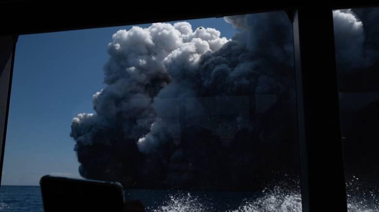 Έκρηξη ηφαιστείου στη Νέα Ζηλανδία με νεκρό, τραυματίες και αγνοουμένους