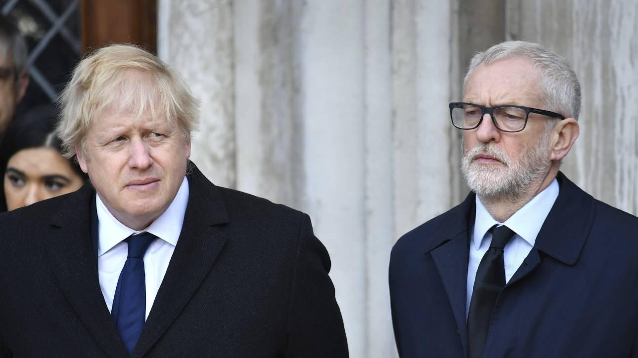 Βρετανία: Διευρύνεται η διαφορά Συντηρητικών - Εργατικών μέρες πριν τις εκλογές