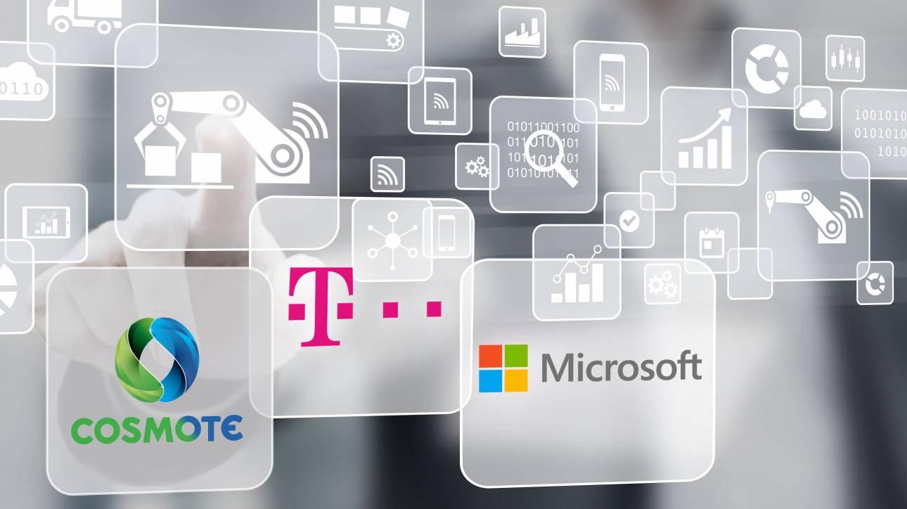 Λύσεις cloud στα μέτρα κάθε επιχείρησης από την COSMOTE σε συνεργασία με τη Microsoft