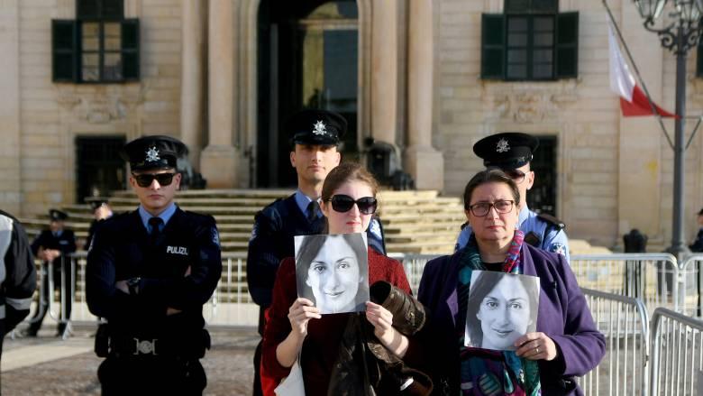 Μάλτα: Εισβολή στο πρωθυπουργικό γραφείο – Ζητούν την παραίτηση Μουσκάτ