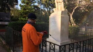 Δράσεις καθαριότητας και αποκατάστασης στην Κυψέλη από τον Δήμο Αθηναίων