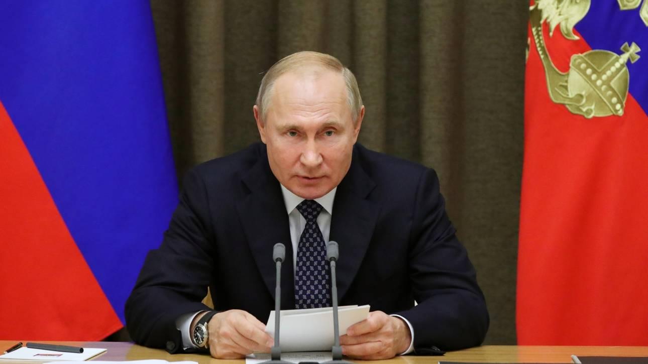 Πούτιν για αποκλεισμό Ρωσίας: «Πολιτικές σκέψεις» πίσω από την απόφαση της Wada