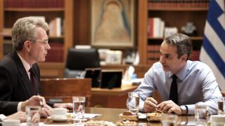 Συνάντηση Μητσοτάκη - Πάιατ στο Μαξίμου - Στο «μενού» η συμφωνία Άγκυρας – Τρίπολης