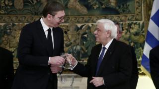 Αίτημα επιστροφής των Γλυπτών του Παρθενώνα έθεσε ο Παυλόπουλος στο δείπνο προς τιμήν του Βούτσιτς