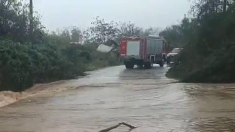 Κακοκαιρία «Διδώ»: Βρέθηκε ο οδηγός που παρασύρθηκε από χείμαρρο στη Βέροια