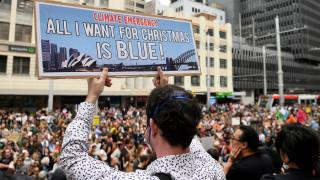 Αυστραλία: 20.000 άνθρωποι κατά της κλιματικής αλλαγής