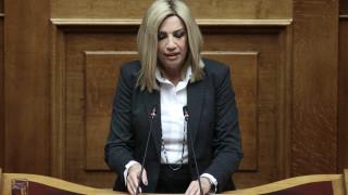 Γεννηματά: «Ναι» του ΚΙΝΑΛ στο νομοσχέδιο για την ψήφο των Ελλήνων του εξωτερικού