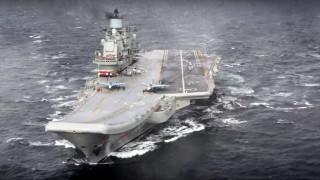 Φωτιά σε ρωσικό αεροπλανοφόρο με τραυματίες