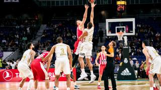 Ρεάλ-Ολυμπιακός 93-77: «Συντριβή» στη Μαδρίτη
