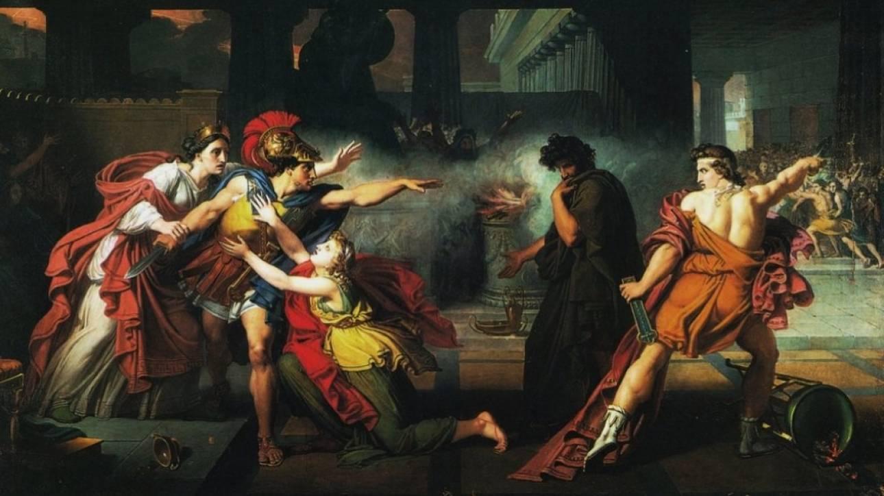 «Ετεοκλής»: Το μυθικό πρόσωπο από το οποίο πήρε το όνομά της η κακοκαιρία