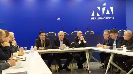 Πίσω στην εγχώρια πολιτική: Συνάντηση Αβραμόπουλου με στελέχη της ΝΔ