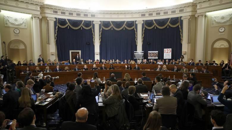 «Ναι» από την Επιτροπή της Βουλής των Αντιπροσώπων για παραπομπή του Τραμπ