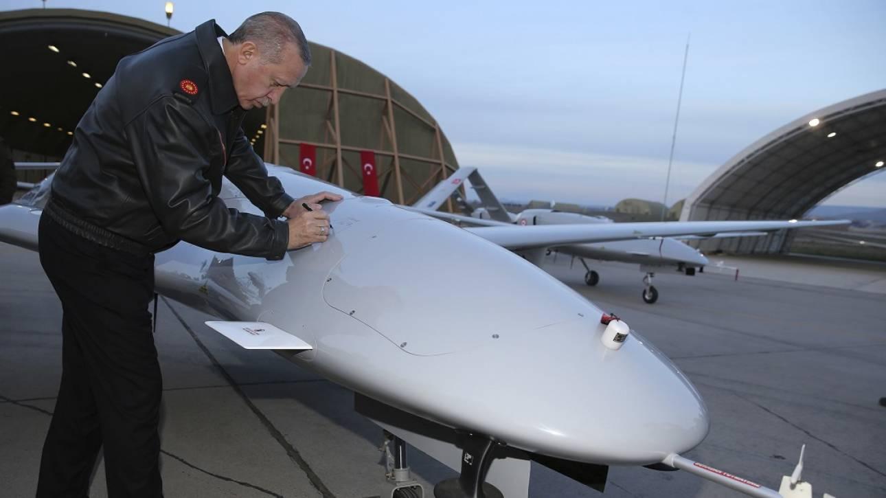 Βάση με τουρκικά drones στην κατεχόμενη Κύπρο
