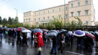 Συλλαλητήριο και συνάντηση συνταξιούχων με Γεραπετρίτη - Βρούτση (pics)