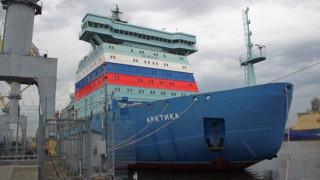 Έτοιμο να κατακτήσει την Αρκτική το πρώτο ρωσικό πυρηνικό παγοθραυστικό (pics vid)