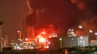 Πυρκαγιά σε διυλιστήριο της Total στη Γαλλία