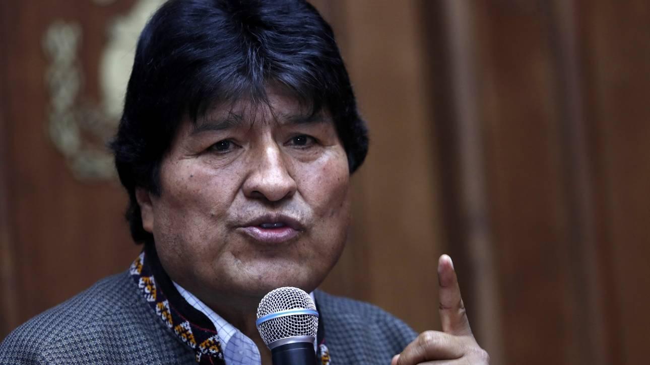 Βολιβία: Τις επόμενες ημέρες το ένταλμα σύλληψης κατά Μοράλες