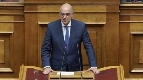 Δένδιας: Η Τουρκία δεν θα παρασύρει την Ελλάδα σε επίπεδο βαλκάνιου καυγατζή
