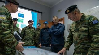 Επίσκεψη του υφυπουργού Εθνικής Άμυνας Αλκιβιάδη Στεφανή στον Έβρο
