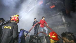 Μπαγκλαντές: Φωτιά σε εργοστάσιο – Τουλάχιστον 10 οι νεκροί