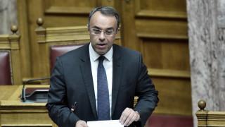 Σταϊκούρας προς βουλευτές ΣΥΡΙΖΑ: Έχετε αυταπάτες