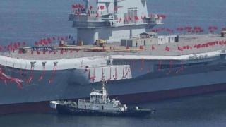 Κίνα: «Σάλπαρε» το πρώτο αεροπλανοφόρο αποκλειστικά made in china
