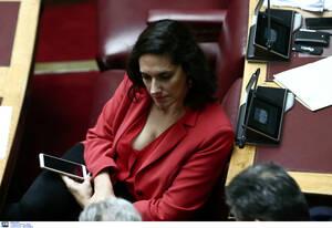 Η βουλευτής της Νέας Δημοκρατίας Νόνη Δούνια