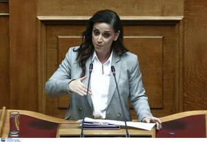 Ομιλία της βουλευτή του ΣΥΡΙΖΑ, Ραλλίας Χρηστίδου