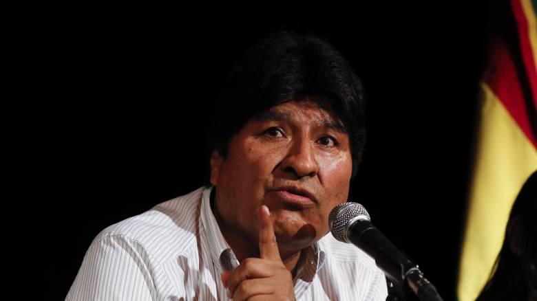 Βολιβία: Ένταλμα σύλληψης κατά του Έβο Μοράλες εξέδωσε η Εισαγγελία
