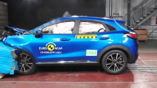 Πέντε αστέρια κατά EuroNCAP για τα VW Golf, Ford Puma και Nissan Juke