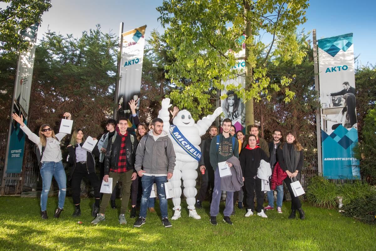 Michelin και σπουδαστές ΑΚΤΟ για την Οδική Ασφάλεια