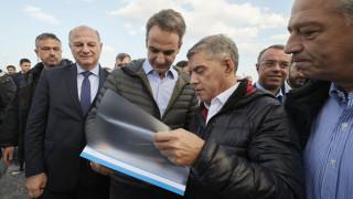 Μητσοτάκης: Μέχρι το τέλος του 2021 ο αυτοκινητόδρομος Λαμία - Ξυνιάδα