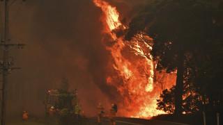Αυστραλία: Μαίνονται οι καταστροφικές πυρκαγιές – Ακόμη ένας νεκρός