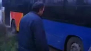 Λεωφορείο του ΟΑΣΘ γέμισε καπνούς ενώ εκτελούσε δρομολόγιο
