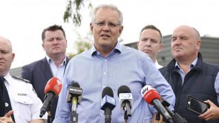 Αυστραλία: Στο μέτωπο των πυρκαγιών ο πρωθυπουργός μετά τις διακοπές στη Χαβάη