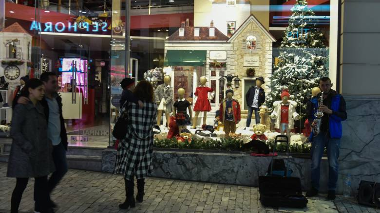 Χριστούγεννα 2019: Το εορταστικό ωράριο των καταστημάτων σε Αθήνα και Θεσσαλονίκη