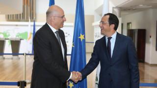 Συμφωνία Τουρκίας - Λιβύης: Συνάντηση Δένδια - Χριστοδουλίδη