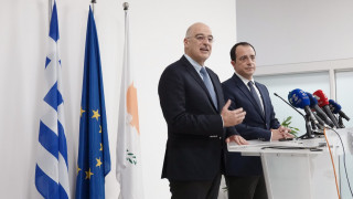 Στην Κύπρο ο Δένδιας: «Οι πρωτοβουλίες μας στην Αν. Μεσόγειο δεν στρέφονται εναντίον τρίτων»