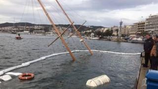 Καβάλα: Βυθίστηκε ιστιοφόρο στο λιμάνι