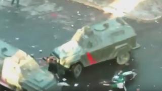 Οργή στη Χιλή: Αύρες της αστυνομίας «συνθλίβουν» 20χρονο διαδηλωτή