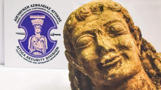 Εντοπίστηκε κεφαλή Kούρου μοναδικής αρχαιολογικής αξίας