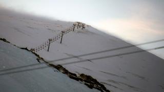 Θεσσαλονίκη: Κλειστό λόγω χιονοθύελλας το χιονοδρομικό κέντρο Βόρας - Καϊμακτσαλάν