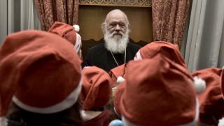 Χριστούγεννα 2019: Το μήνυμα του Αρχιεπισκόπου Ιερώνυμου